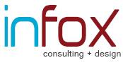 infox consulting + design Logo